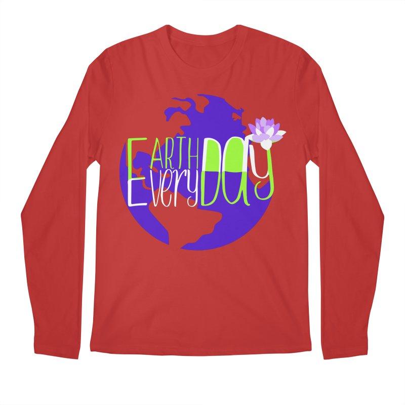 EDED - Earth Day Every Day Men's Longsleeve T-Shirt by LLUMA Creative Design