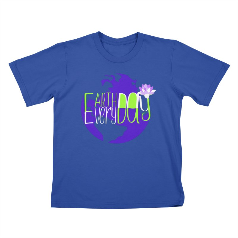 EDED - Earth Day Every Day Kids T-Shirt by LLUMA Creative Design