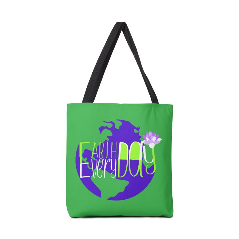EDED - Earth Day Every Day Accessories Bag by LLUMA Creative Design
