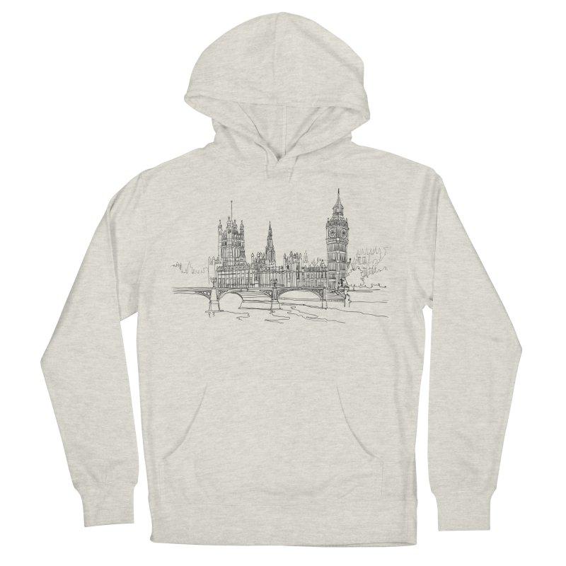 London, England Men's Pullover Hoody by LLUMA Creative Design