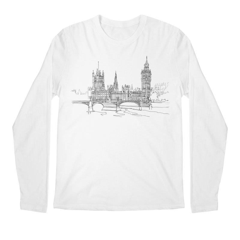London, England Men's Longsleeve T-Shirt by LLUMA Creative Design