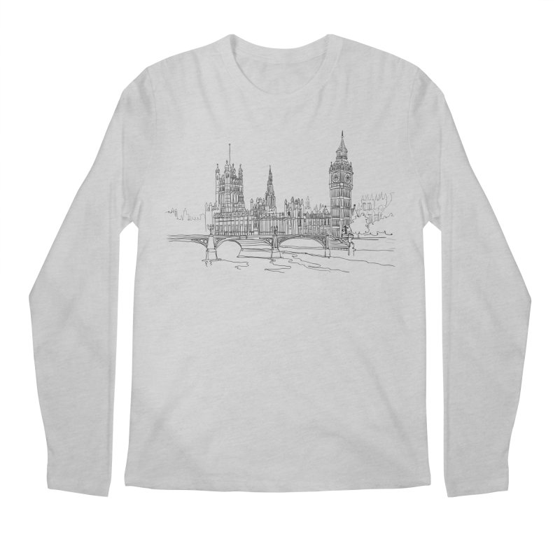 London, England Men's Longsleeve T-Shirt by LLUMA Creative Design
