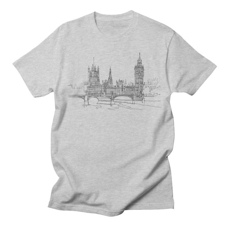 London, England Men's T-Shirt by LLUMA Design
