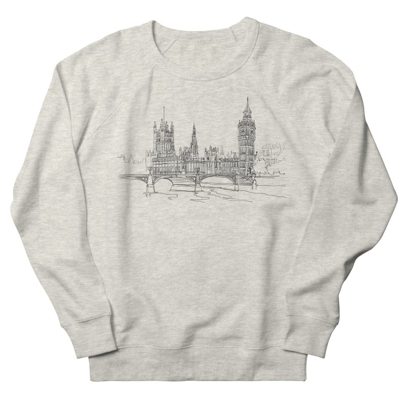 London, England Women's Sweatshirt by LLUMA Creative Design