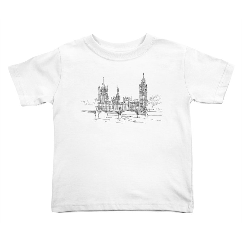 London, England Kids Toddler T-Shirt by LLUMA Creative Design