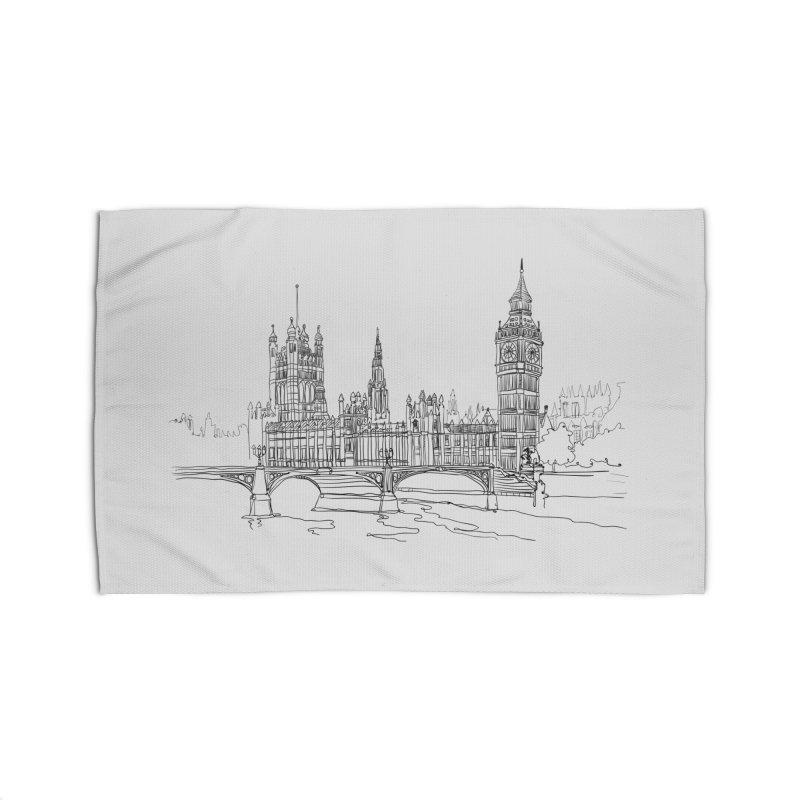 London, England Home Rug by LLUMA Creative Design