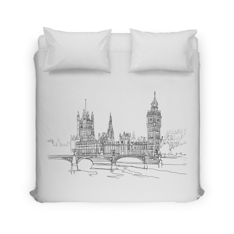 London, England Home Duvet by LLUMA Design