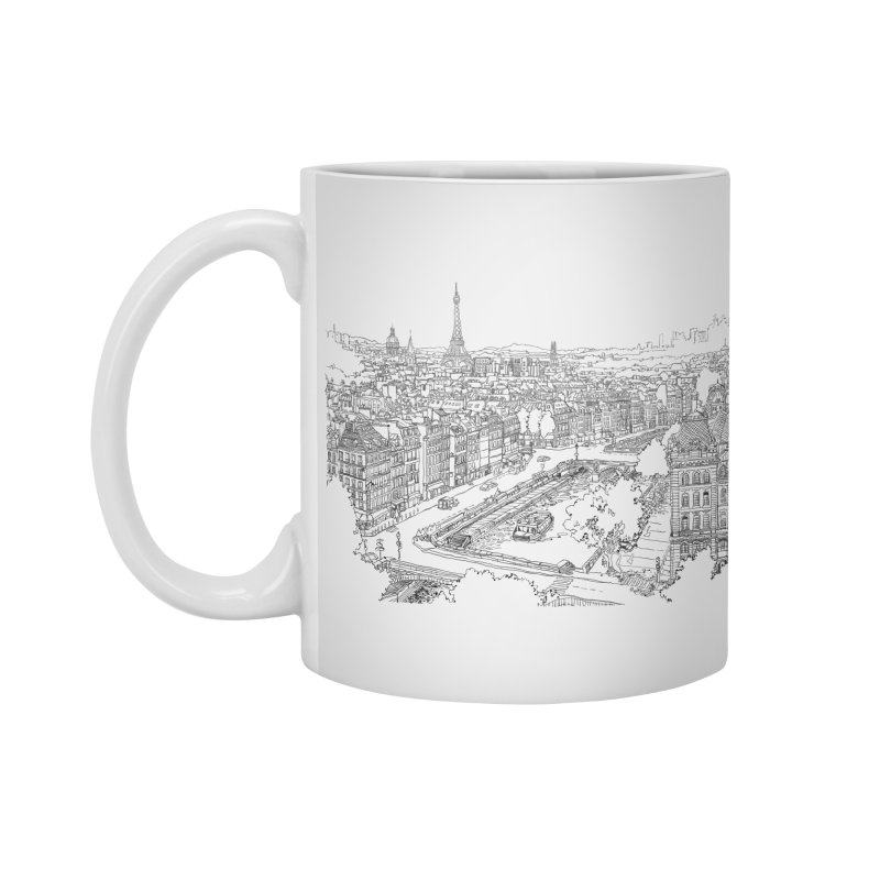 Paris, France Accessories Mug by LLUMA Creative Design