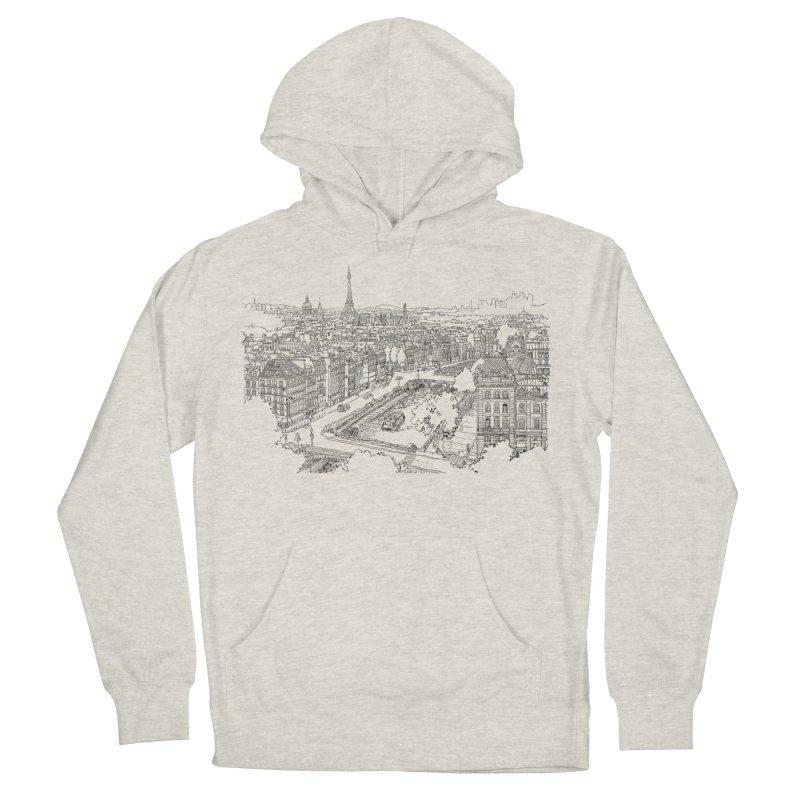 Paris, France Men's Pullover Hoody by LLUMA Creative Design
