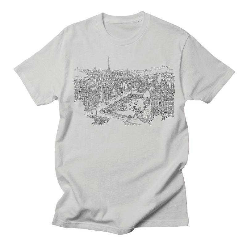 Paris, France Women's Unisex T-Shirt by LLUMA Design