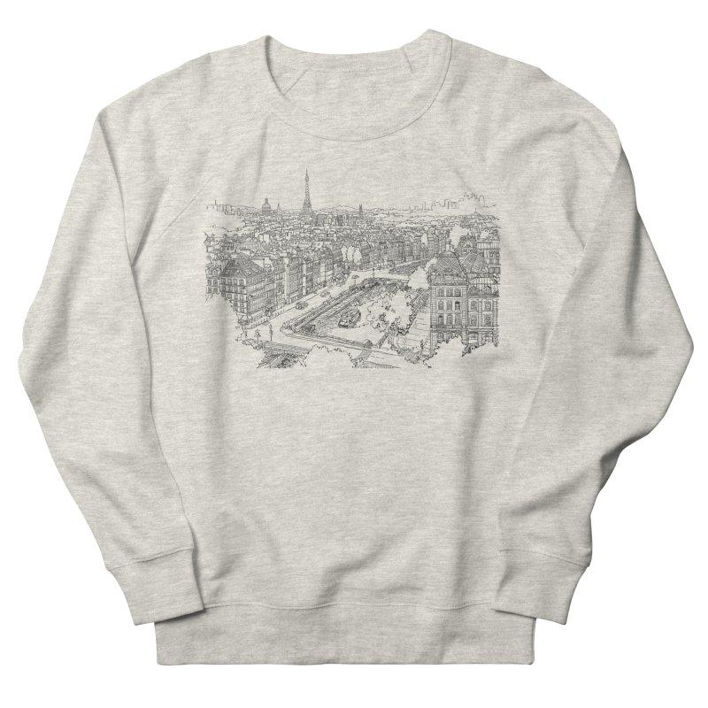 Paris, France Men's Sweatshirt by LLUMA Creative Design