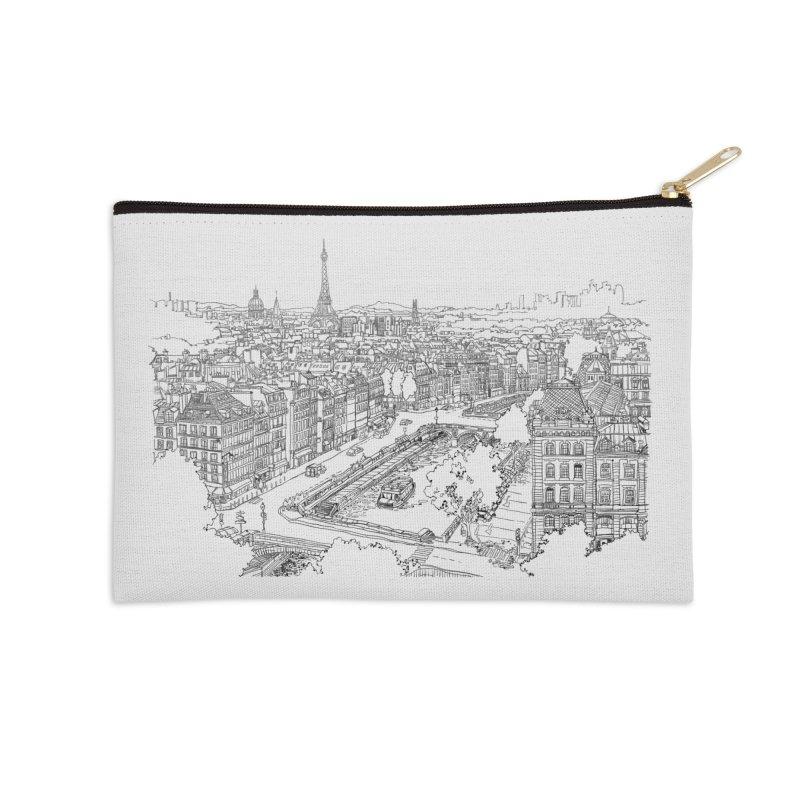 Paris, France Accessories Zip Pouch by LLUMA Creative Design