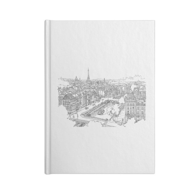 Paris, France Accessories Notebook by LLUMA Creative Design