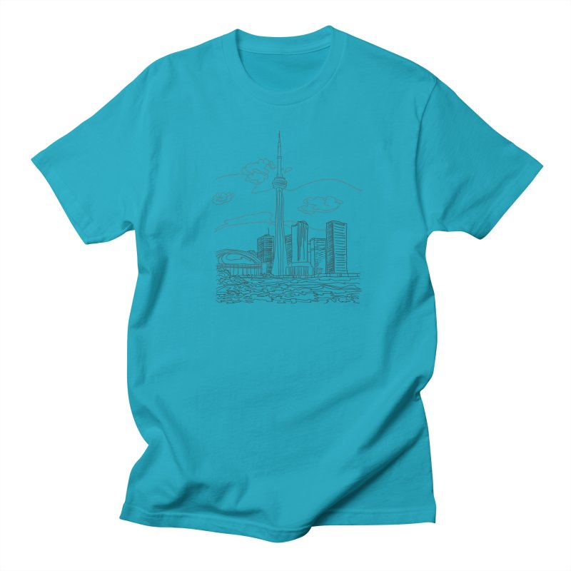Toronto, Canada Men's T-Shirt by LLUMA Creative Design