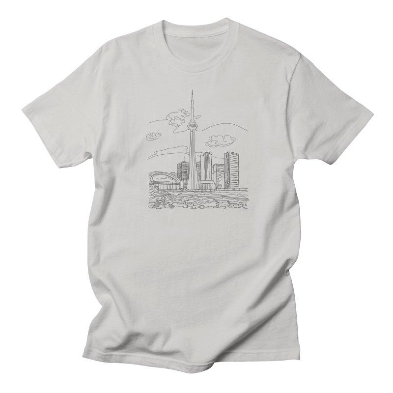 Toronto, Canada Men's T-Shirt by LLUMA Design