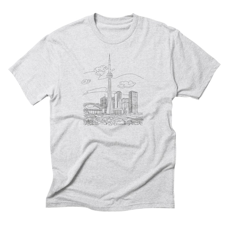 Toronto, Canada Men's Triblend T-shirt by LLUMA Design