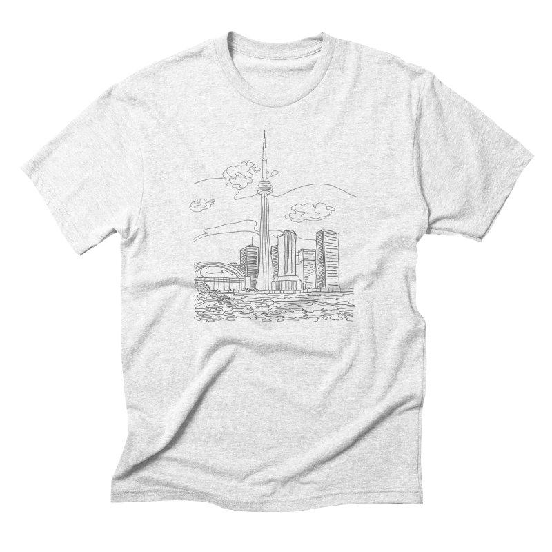 Toronto, Canada Men's Triblend T-shirt by LLUMA Design