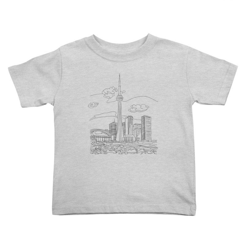 Toronto, Canada Kids Toddler T-Shirt by LLUMA Design