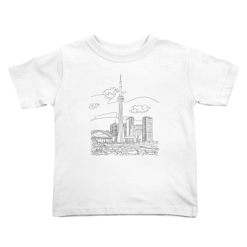 Toronto, Canada Kids Toddler T-Shirt by LLUMA Creative Design