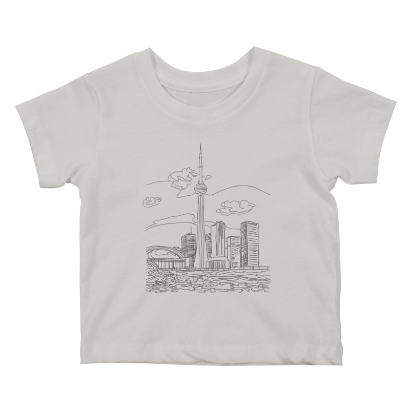 Toronto, Canada Kids Baby T-Shirt by LLUMA Design