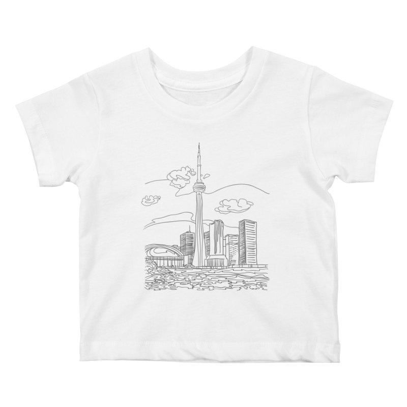 Toronto, Canada Kids Baby T-Shirt by LLUMA Creative Design