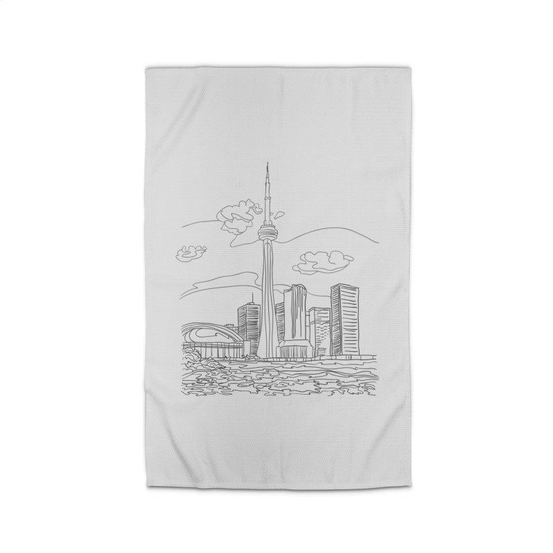 Toronto, Canada Home Rug by LLUMA Creative Design