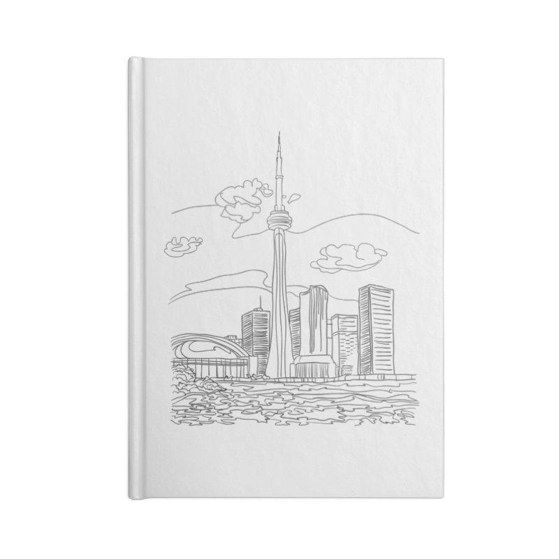 Toronto, Canada Accessories Notebook by LLUMA Design