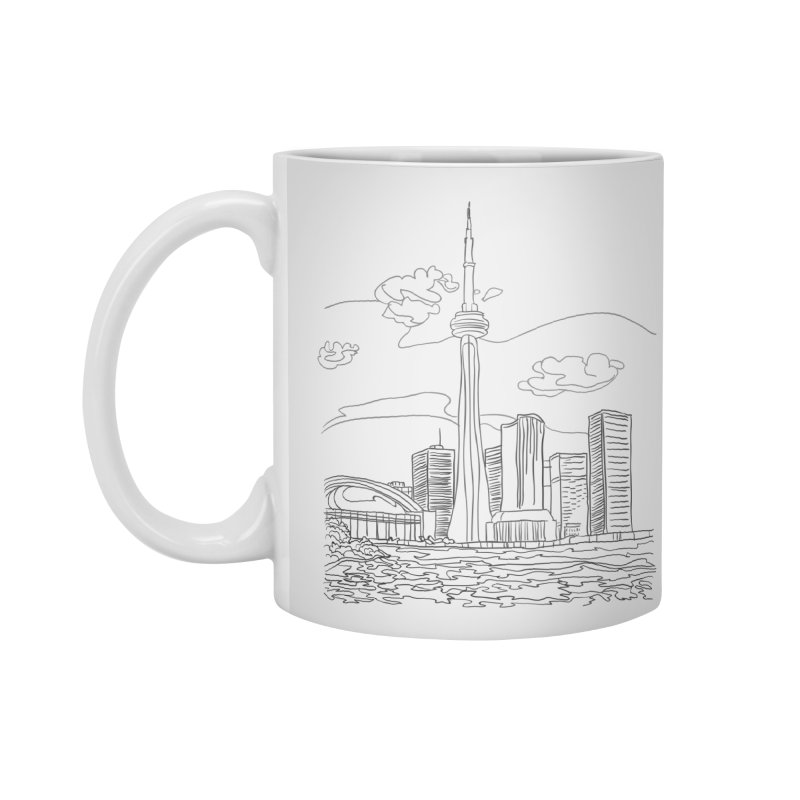 Toronto, Canada Accessories Mug by LLUMA Creative Design