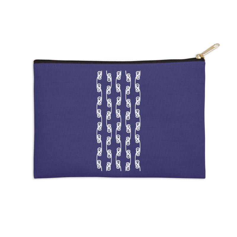 Tie the Hitch Knot Accessories Zip Pouch by LLUMA Design
