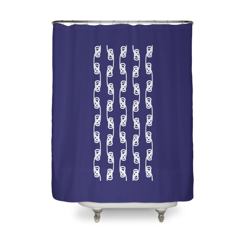 Tie the Hitch Knot Home Shower Curtain by LLUMA Design