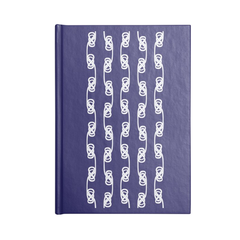 Tie the Hitch Knot Accessories Notebook by LLUMA Design