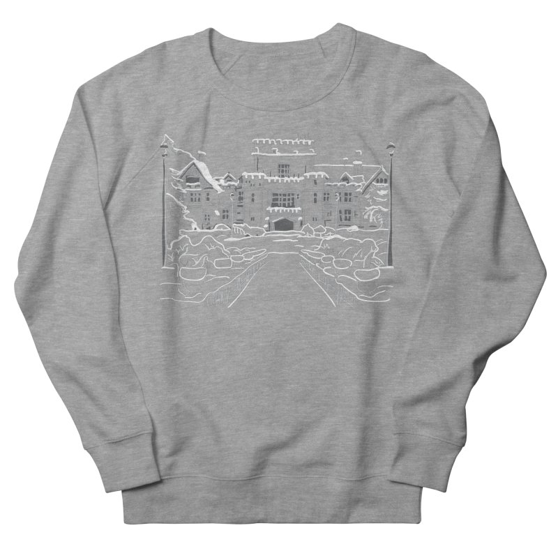 Hatley Castle, BC Men's Sweatshirt by LLUMA Design