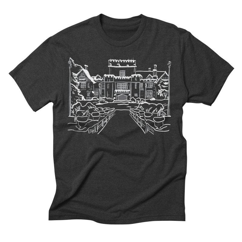 Hatley Castle, BC Men's Triblend T-Shirt by LLUMA Creative Design