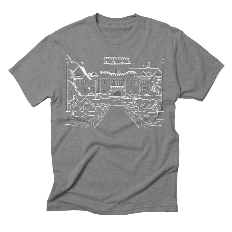 Hatley Castle, BC Men's Triblend T-shirt by LLUMA Design