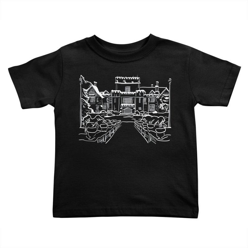 Hatley Castle, BC Kids Toddler T-Shirt by LLUMA Creative Design