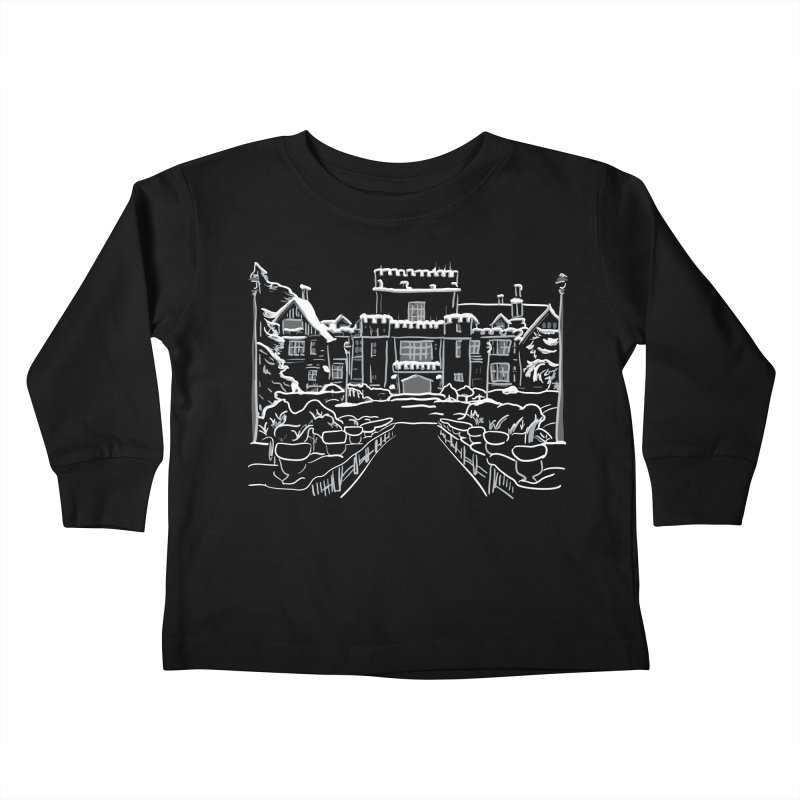 Hatley Castle, BC Kids Toddler Longsleeve T-Shirt by LLUMA Design