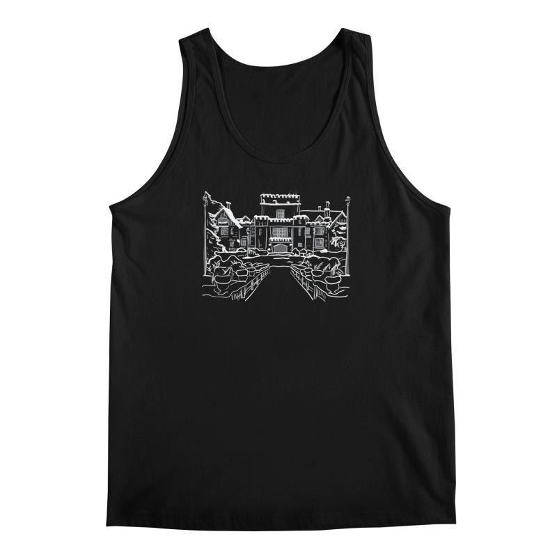 Hatley Castle, BC Men's Tank by LLUMA Creative Design
