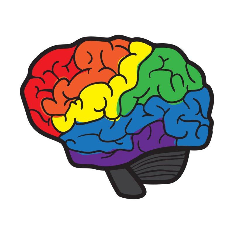 Colourful Brain None  by LLUMA Design