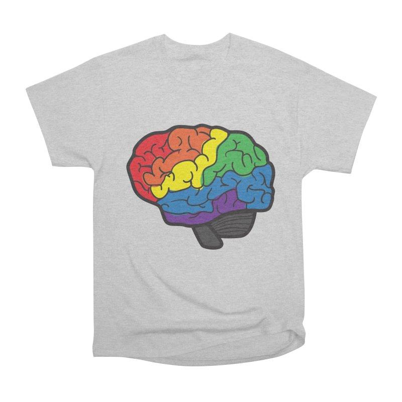Colourful Brain Men's Classic T-Shirt by LLUMA Design