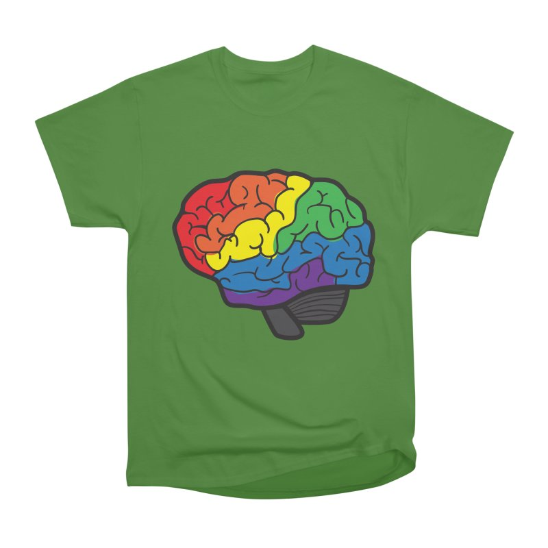 Colourful Brain Men's Classic T-Shirt by LLUMA Design