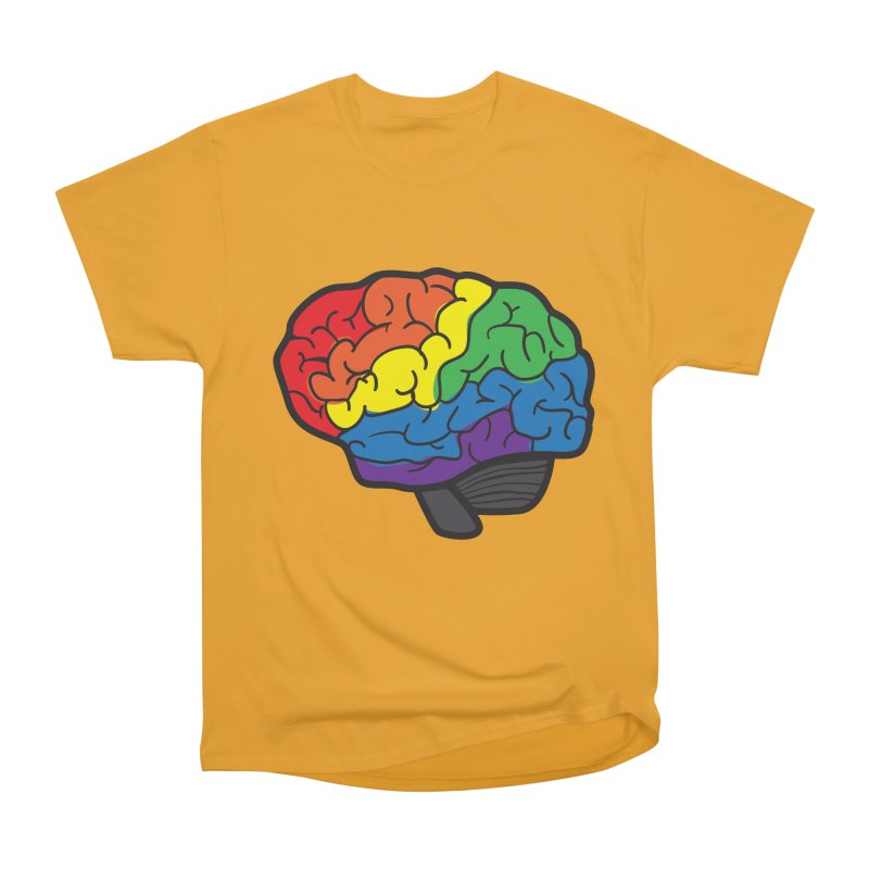 Colourful Brain Women's Classic Unisex T-Shirt by LLUMA Design