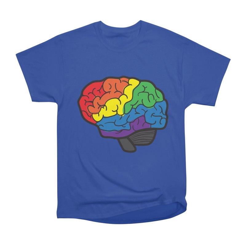 Colourful Brain Women's Classic Unisex T-Shirt by LLUMA Design