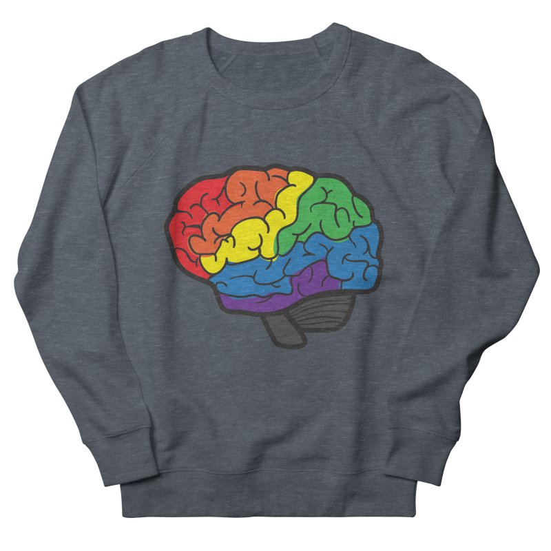 Colourful Brain Women's Sweatshirt by LLUMA Design