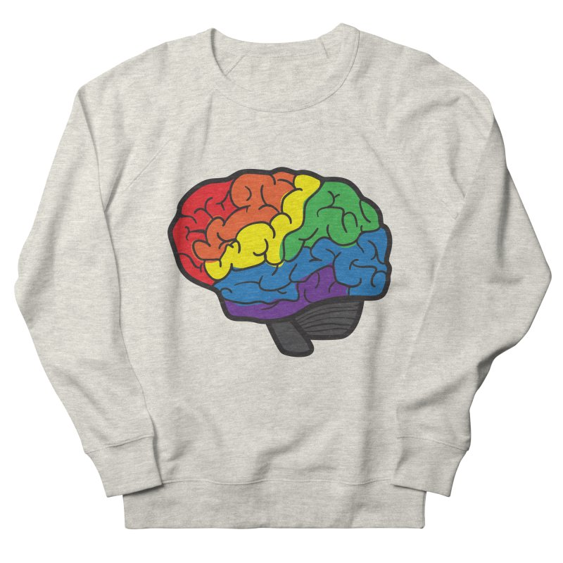 Colourful Brain Men's Sweatshirt by LLUMA Design