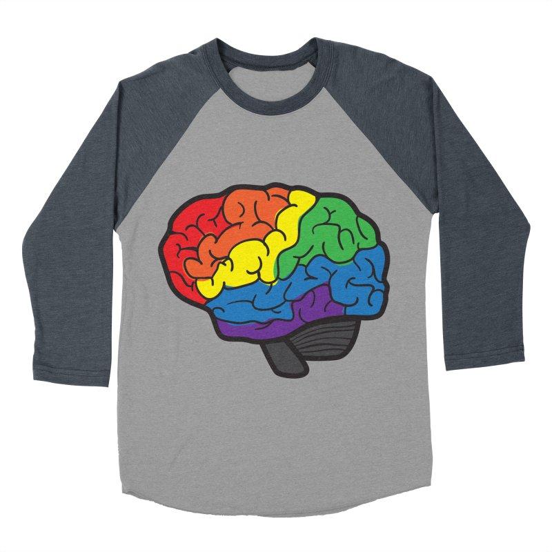 Colourful Brain Women's Baseball Triblend T-Shirt by LLUMA Design