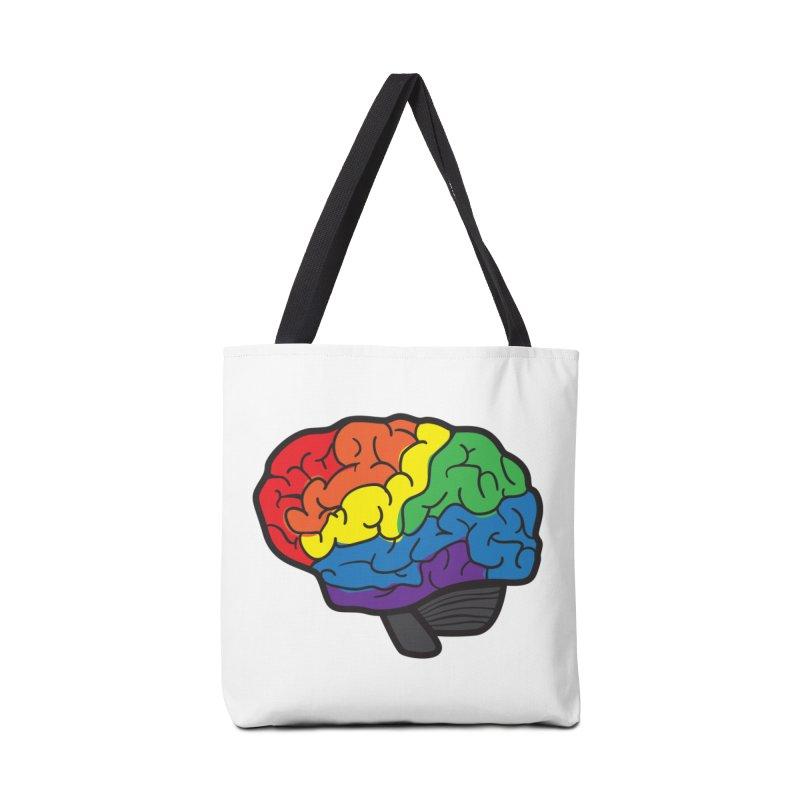 Colourful Brain Accessories Bag by LLUMA Design