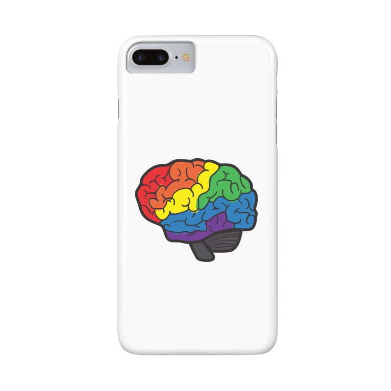 Colourful Brain Accessories Phone Case by LLUMA Design