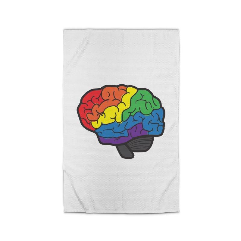 Colourful Brain Home Rug by LLUMA Design