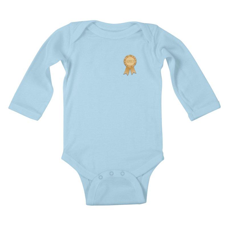 Congratulations on Adulting! Kids Baby Longsleeve Bodysuit by LLUMA Design
