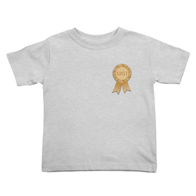 Congratulations on Adulting! Kids Toddler T-Shirt by LLUMA Design